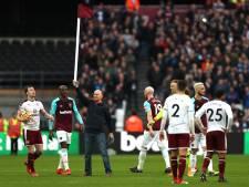 Vijf supporters West Ham United bestraft met levenslang stadionverbod