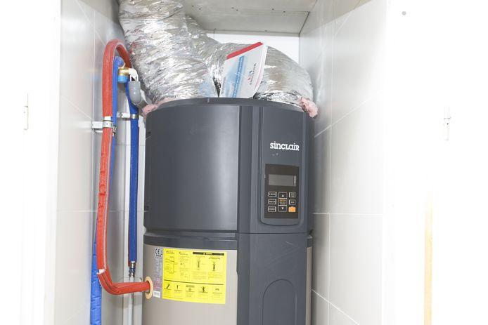 Bij gasloos wonen worden meestal warmtepompen in het huis geplaatst.