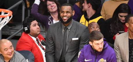 LeBron James mag training hervatten