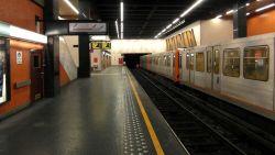 Dode na aanrijding in Brusselse metro