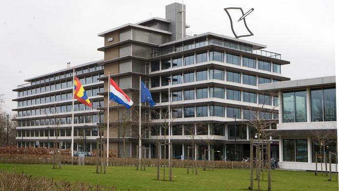 Het provinciehuis in Zwolle