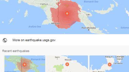 """Papoea-Nieuw-Guinea getroffen door zware aardbeving: """"Geen melding van slachtoffers"""""""