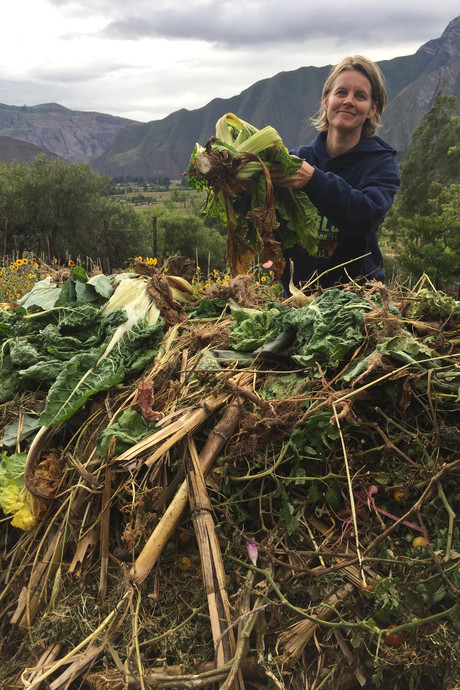 Soester vrouwen leggen moestuinen aan in Andes