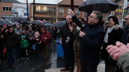 Regen is spelbreker op nieuwjaarsreceptie in nieuwe fusiegemeente