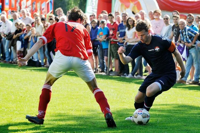 Oefenwedstijd Jong Brabant - Willem II. Foto: Joris Buijs/PVE