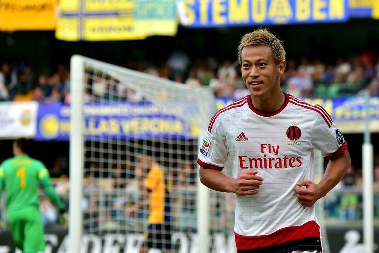 Keisuke Honda. Beeld afp
