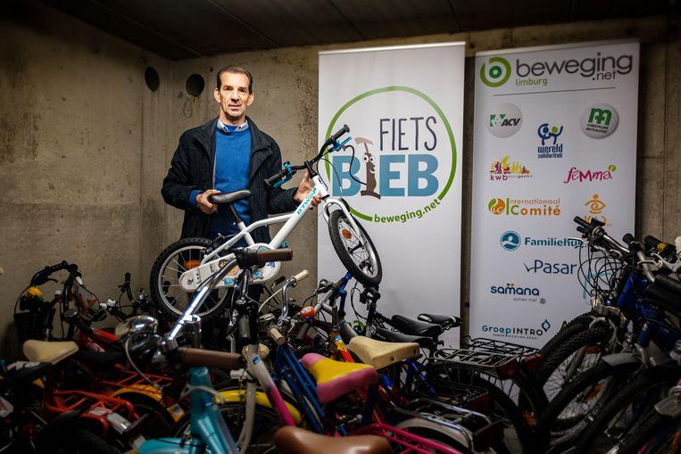 Bart Bynens van de fietsbib.