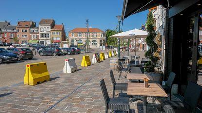 Parkeerplaatsen maken plaats voor terrassen