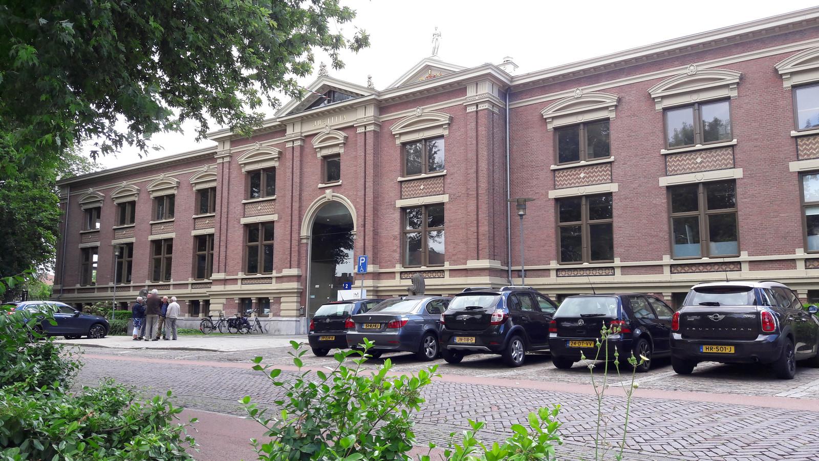 Het gebouw van Rechtbank Gelderland in Zutphen.