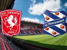 LIVE: Twente en Heerenveen willen richting linkerrijtje