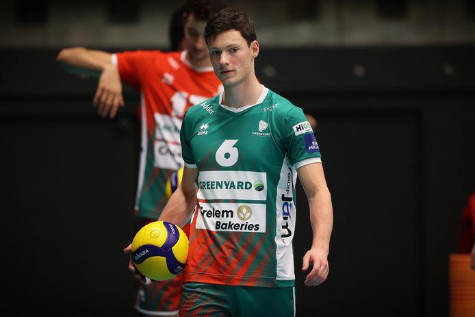 Just Dronkers is aan zijn vierde seizoen bij Maaseik bezig.