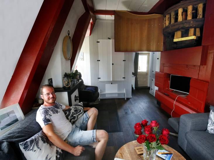 Marc verruilde Zeeland voor een molen: 'Al mijn hele leven heb ik in zo'n ding willen wonen'