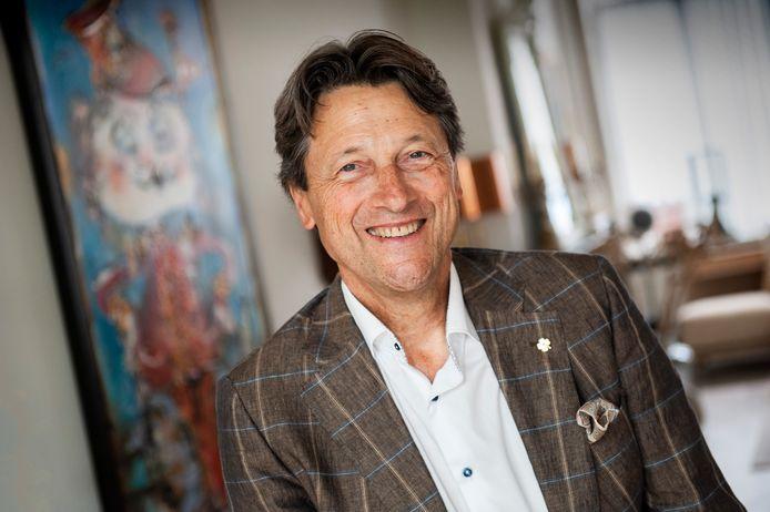 Den Bosch. Portret Henk Pinckers uit âęs-Hertogenbosch die is genezen door stamceldonatie