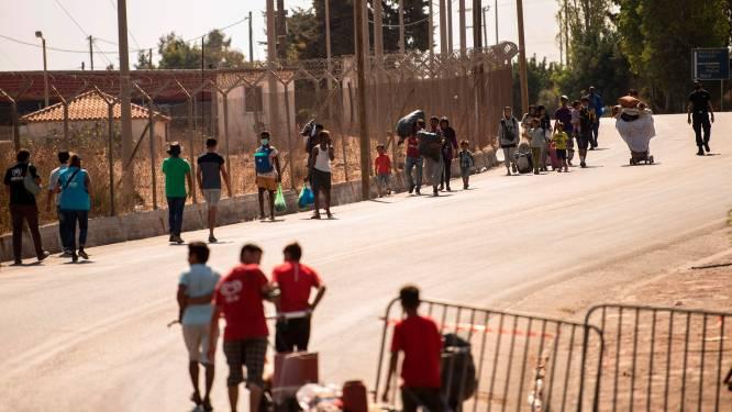 België wil tot 150 kwetsbare vluchtelingen uit Lesbos opnemen