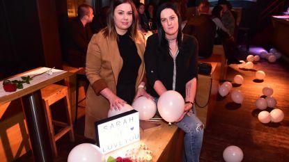 Vrienden zijn Sarah niet vergeten, één jaar na haar ongeval