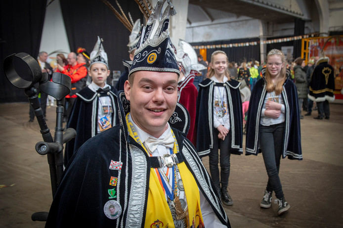 Het 19e Prinsentreffen van De Gelderlander in De Vasim in Nijmegen, met de Prins van Oeffelt Matthijs van Gelder.