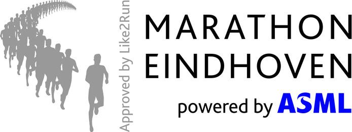 Logo 2017 Marathon Eindhoven powered by ASML