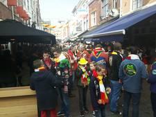 Crowd control in Korte Putstraat; ondernemers willen vervolg met verbeteringen