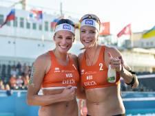 Keizer en Meppelink door naar kwartfinale op EK beachvolleybal
