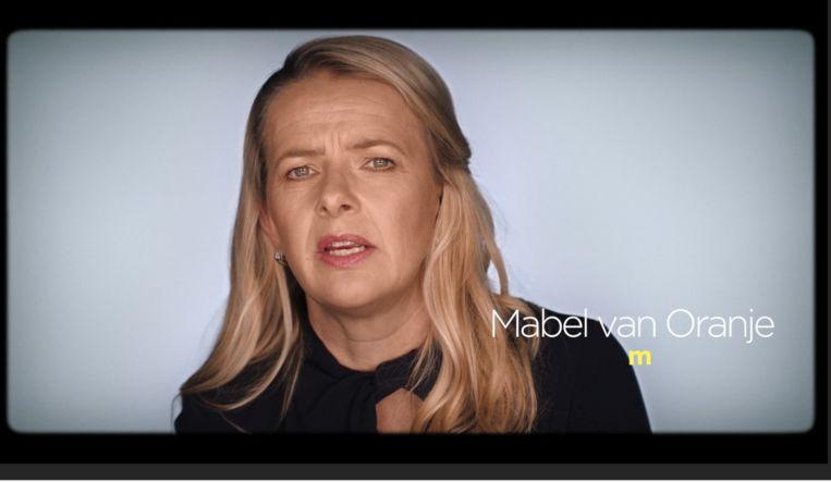 Mabel van Oranje in de documentaire-reeks Sign of the times. Beeld