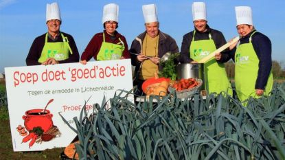 'Soep doet goed': ACV organiseert jaarlijkse soepverkoop tegen armoede