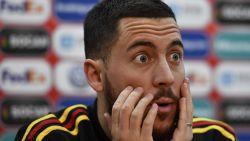 """Eden Hazard: """"Wat ik met mijn 'cap' zal doen? Ergens in de garage leggen"""""""