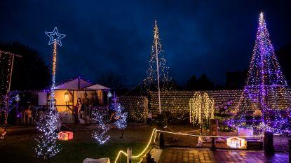Herman laat 50.000 kerstlampjes dansen op muziek voor het goede doel