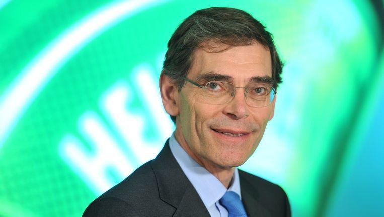 René Hooft Graafland, de huidige financiële topman van Heineken. Beeld anp