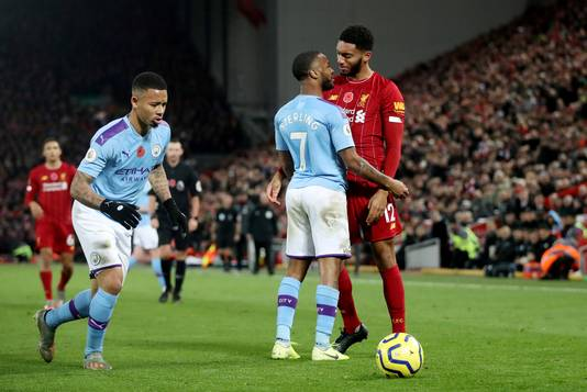 De 'strijd' om de titel gaat dit seizoen tussen Liverpool en Manchester City.
