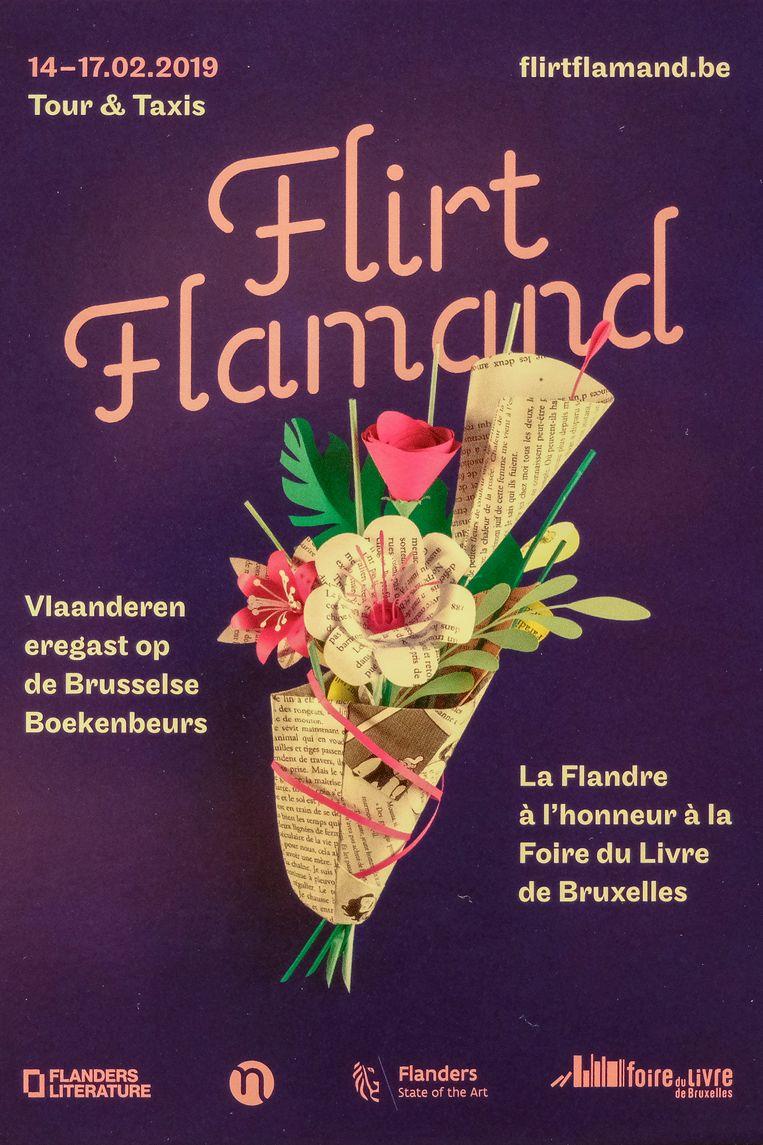 Boekenbeurs Flirt Flammand.