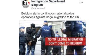 Internetcampagne tegen transmigranten