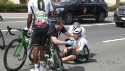 Cavendish keert huiswaarts na val in Abu Dhabi