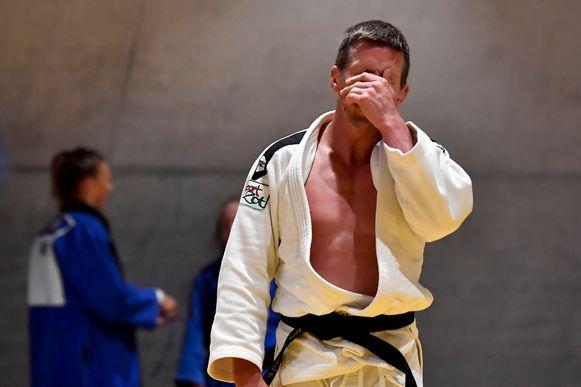 Dirk Van Tichelt op training in de aanloop naar het WK.