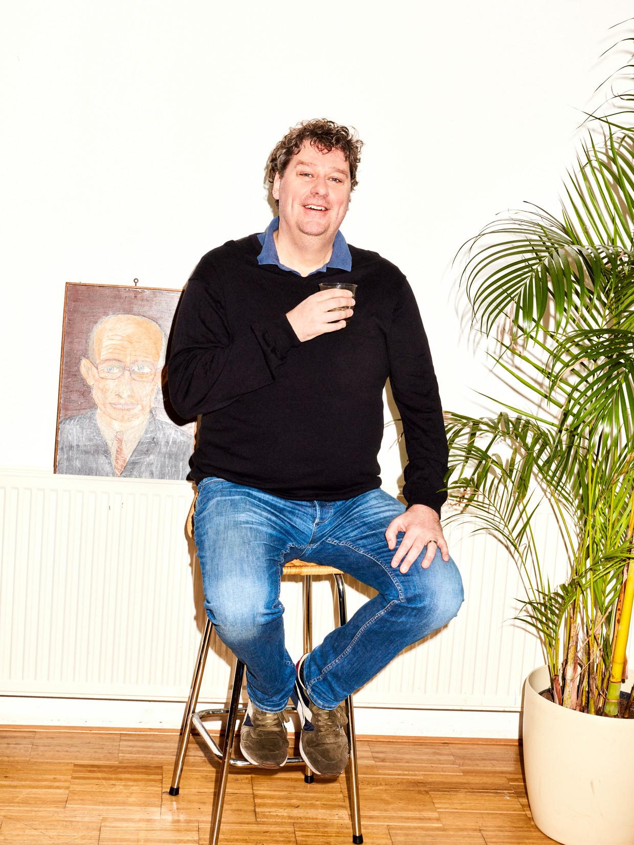 Diederik Ebbinge: 'Ik heb voor mezelf besloten er na de tweede serie mee op te houden.' Beeld Valentina Vos