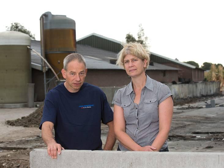 Boer Rudi Krüs na stalbrand: er komt een nieuwe stal, een brandveiligere