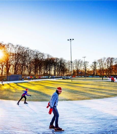De ijsbaan in Doorn is vandaag weer open: 'IJs ligt er perfect bij!'
