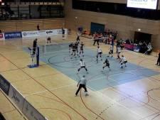 Regio Zwolle Volleybal onderuit in eerste play-offs duel