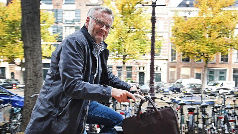 Jeroen Smit is gefascineerd door het grote geld en de mannen in Silicon Valley; daar ligt de macht Beeld Guus Dubbelman / de Volkskrant
