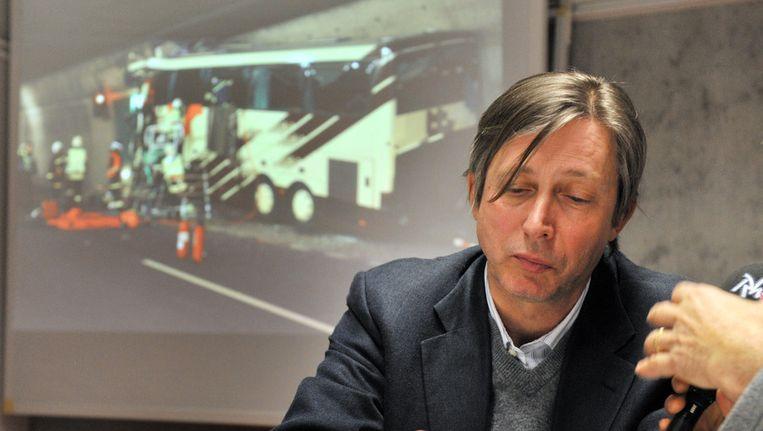 Jan Luykx, de Belgische ambassadeur in Zwitserland. Beeld AFP