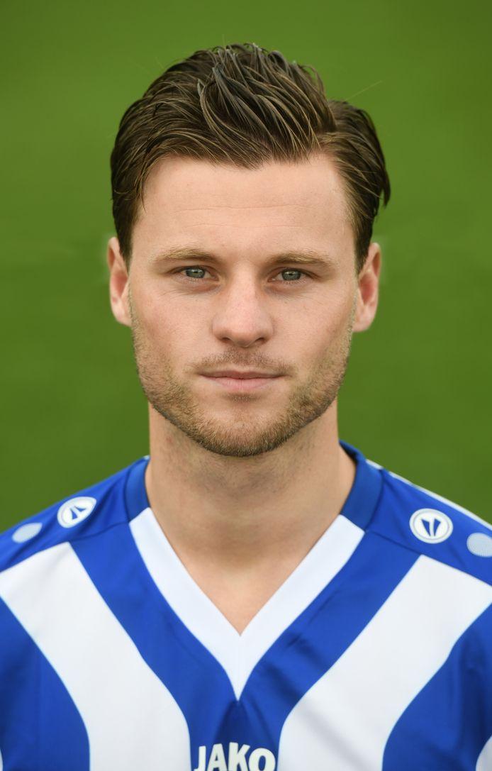 Guido van Rijn, speler van FC Lienden.