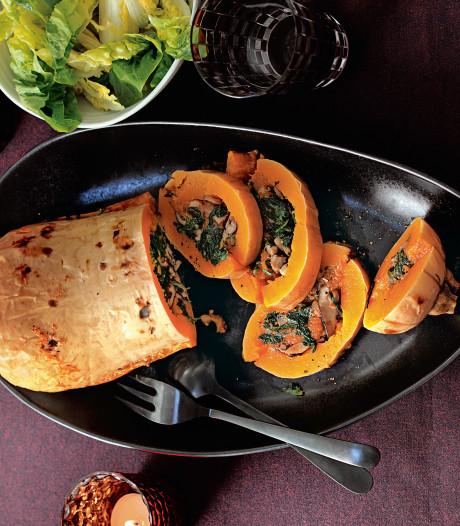 Wat Eten We Vandaag: Gevulde-pompoenrollade