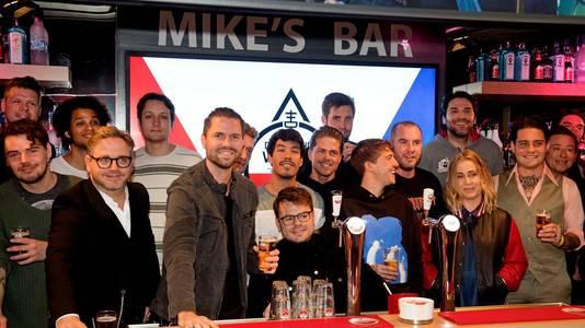 De leden van de Vrienden van Amstel Live