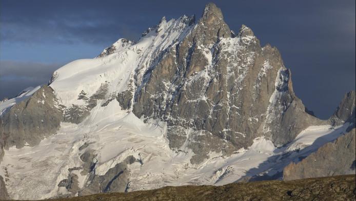 Le massif des Ecrins.