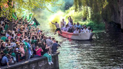 In beeld: de kampioenenviering van Cercle Brugge