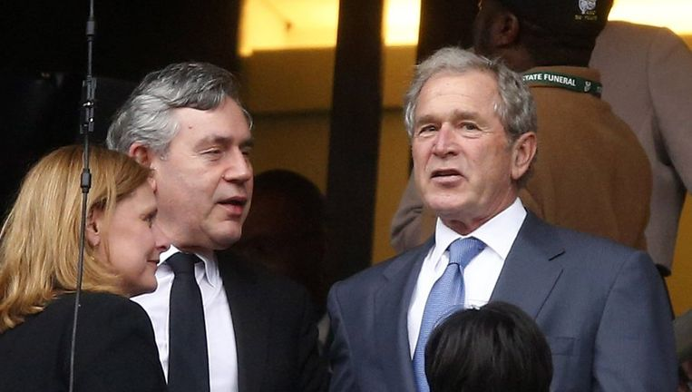 George W. Bush. Beeld reuters