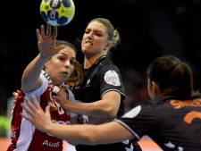 Handbalsters nipt langs Hongarije