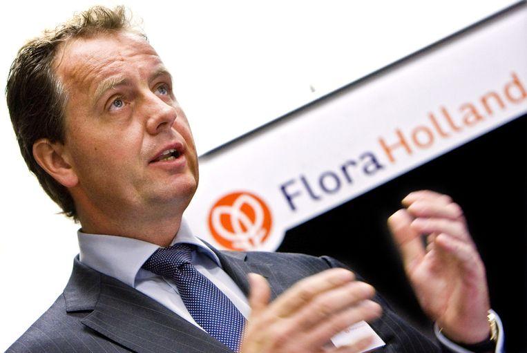 Oud-directeur Tim Hughes van FloraHolland. Beeld anp