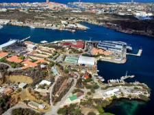 Partij cocaïne onderschept op marinebasis Curaçao