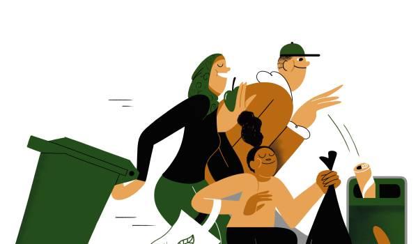 De groene beweging heeft nog een veel te wit gezicht