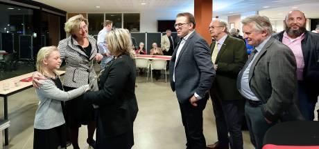Nieuwjaar wensen is in Halderberge ook afscheid nemen van Jobke Vonk-Vedder